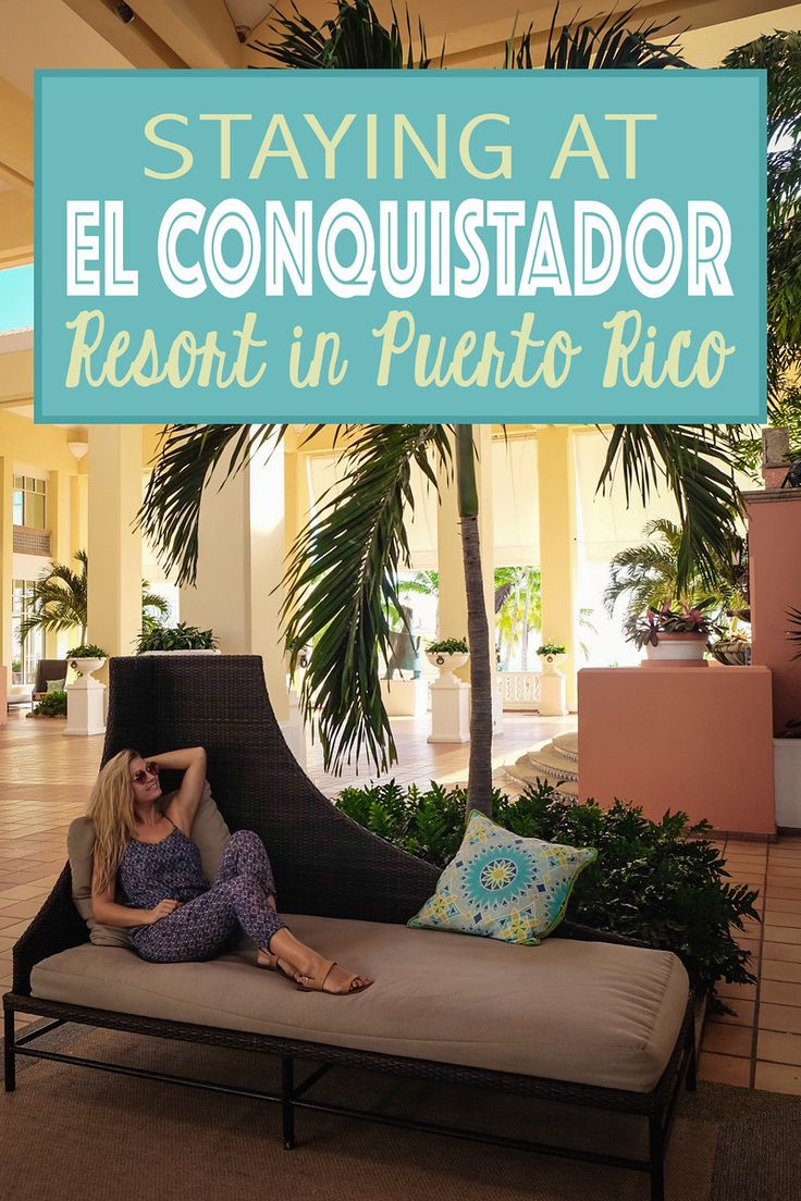 I decided to stay at El Conquistador Resort in Puerto Rico based on readers' suggestions, and with its stunning views of the Atlantic Ocean and Caribbean Sea and easy access to the El Yunque Rainforest, I couldn't resist.