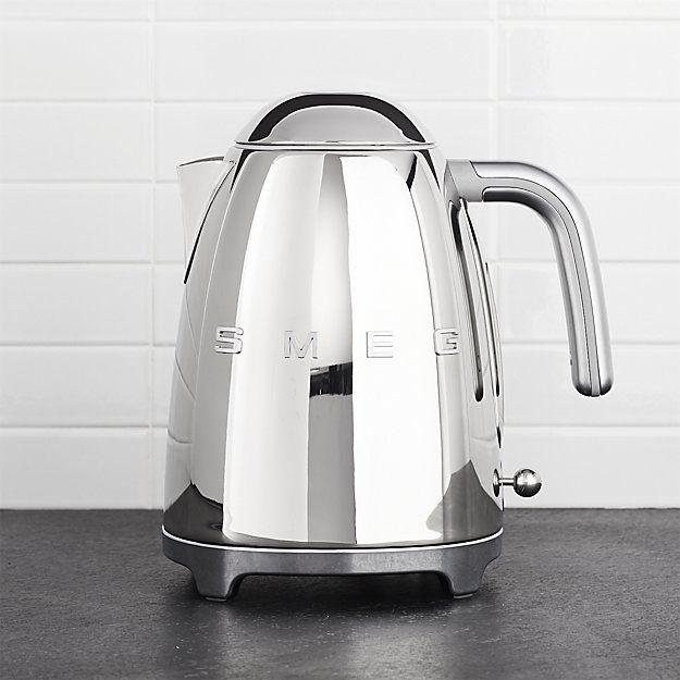 SMEG Stainless steel kettle 1.7l