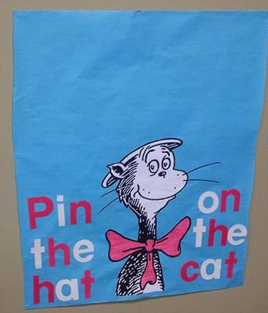 Dr. Seuss party games Cat in the Hat