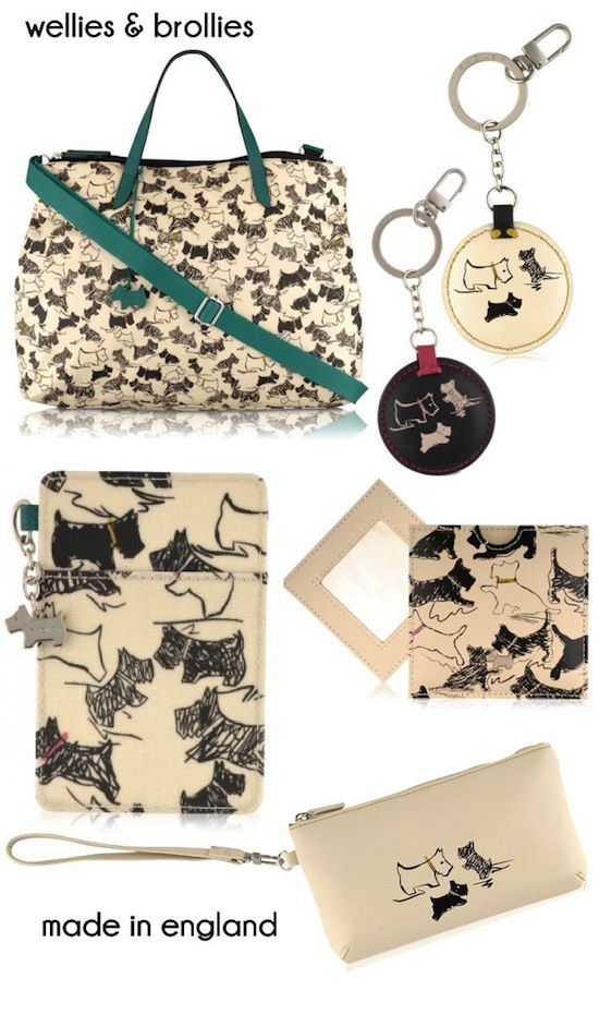 One of these days I'm just going to break down and spend oodles of money for one of these bags!!! -- Radley Doodle Dog