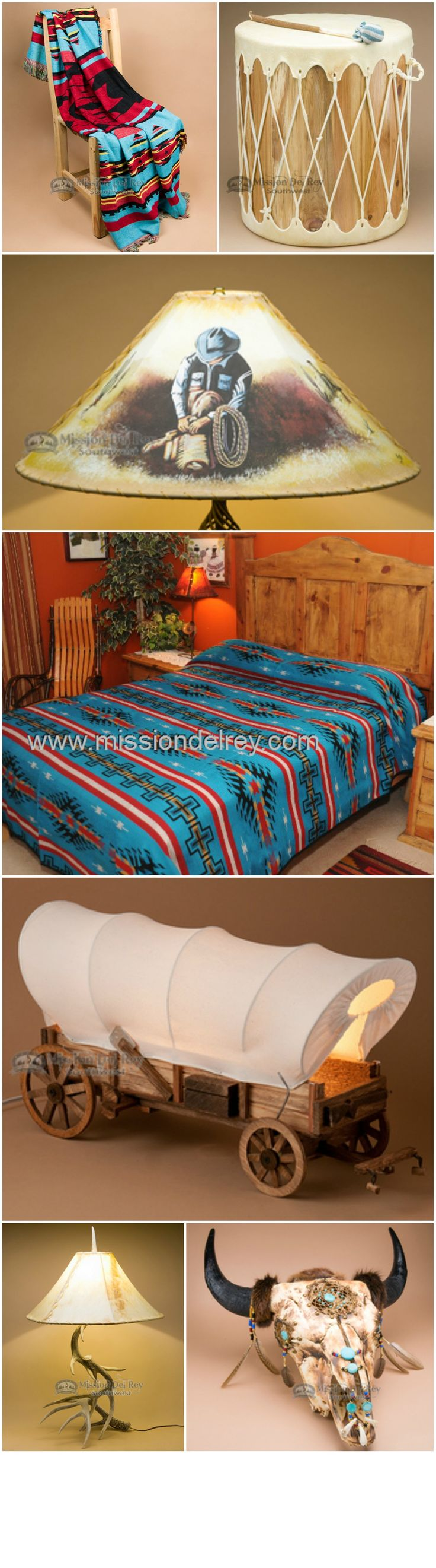 12 best southwestern cow hides images on pinterest for Western style beds