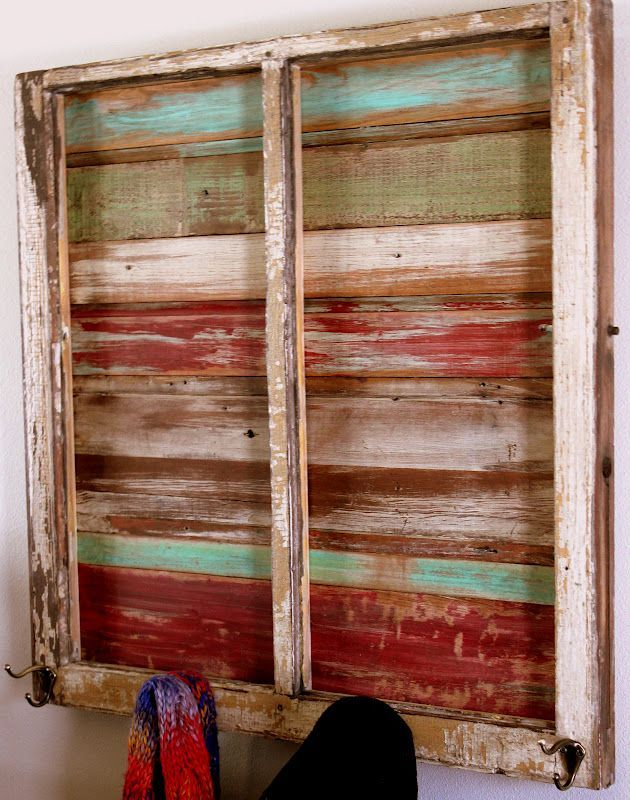 repurposing window sashes | Window Dressing I love to dress up old window sashes with yummy ...