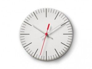 #Clock #Authentics Zegar Authentics - Split time biały
