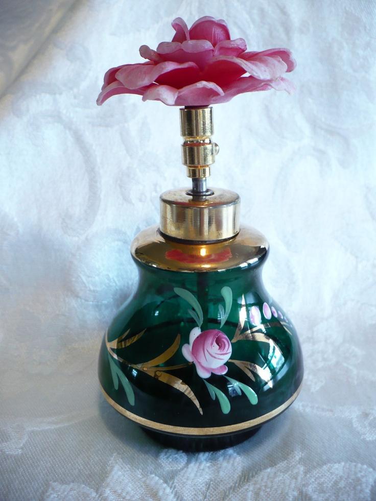 vintage German perfume bottle