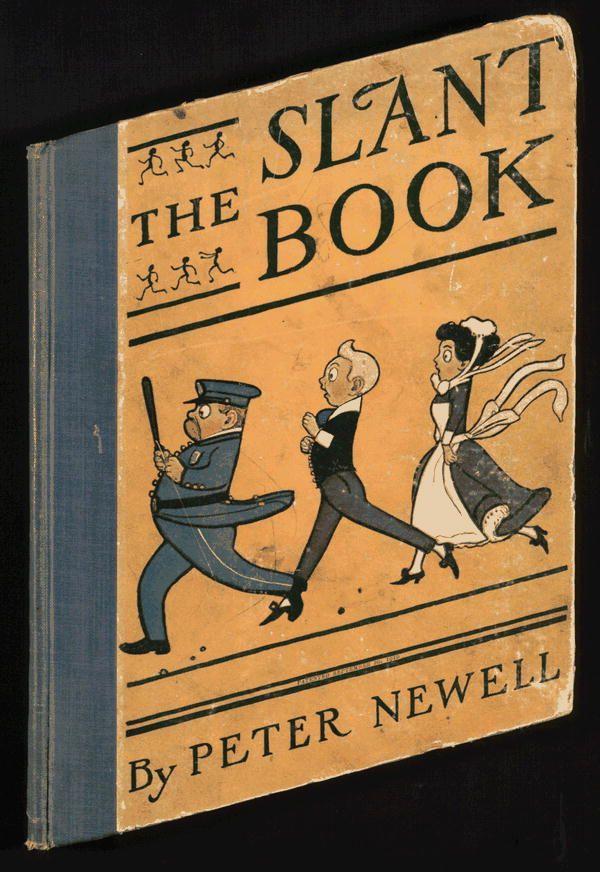 Peter Newell, The slant book (Il libro sbilenco)