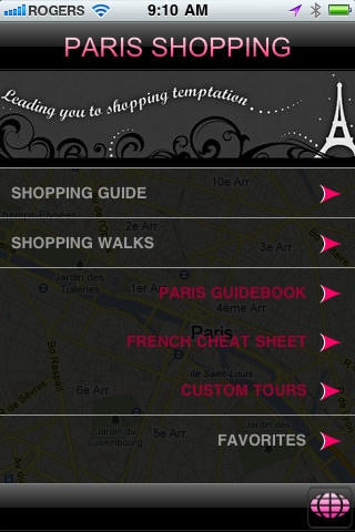 Take our Paris Shopping app shopping with you in Paris! 17 walks that are tried, tested and true by our scores of satisfied paying shopping tour visitors.