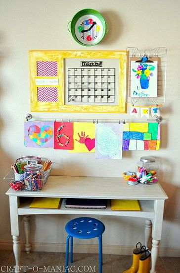 Child's Art Desk Plans - WoodWorking Projects & Plans