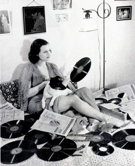 listening to records #vintage #vinyl #lp #record #album