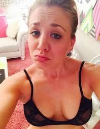 Image result for kaley cuoco leaked