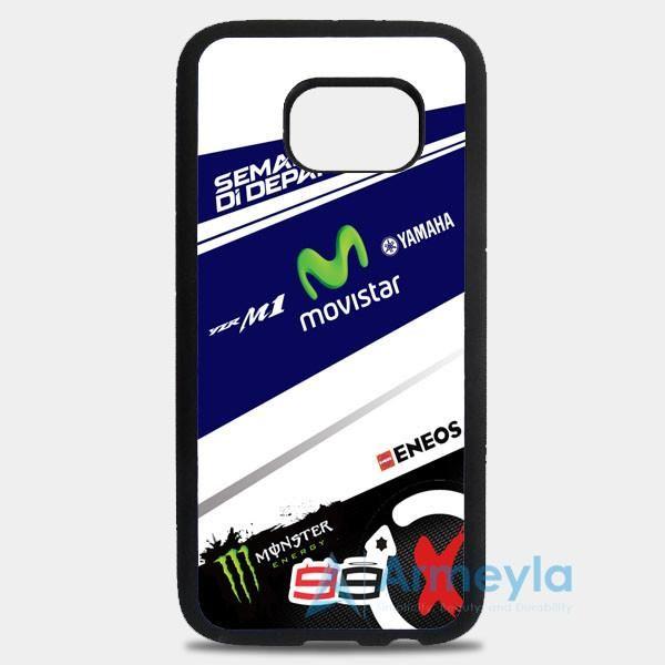 Jorge Lorenzo 99 Movistar Yamaha Motogp Team Samsung Galaxy S8 Plus Case | armeyla.com