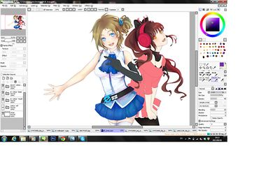 WIP. In preparation for the eventual 6k likes on our Facebook, Geisterstunden (previously Semi-Shigure) is working on a new wallpaper based on Aizawa Inori. The voicepack by Tina for her is ready so its just waiting to hit the number for now. There are many exciting developments for the character now. Really excited to get it going. But before everything, lets get this up before we never have such a chance ever again.