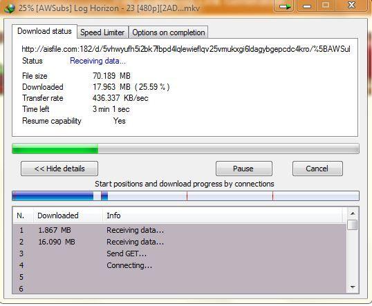 normal download