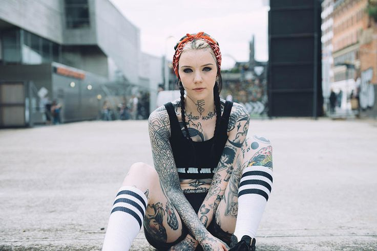 Grace Neutral Lookbook | House of Junk | Shop the look : http://www.houseofjunkclothing.com/#!womens/c1neb We chose to collaborate with this gorgeous tattoo genie because of her 'F*** you - I'm going to do it anyway!' attitude, incredible artistic skills and captivating lilac eyes