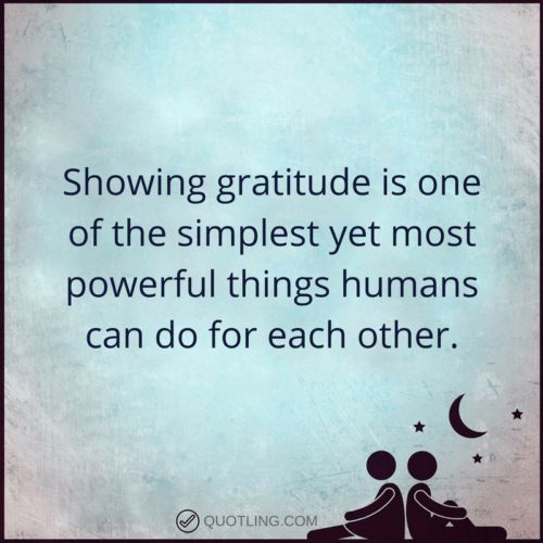 Showing gratitude is one of the simplest yet most powerful | Gratitude Quote