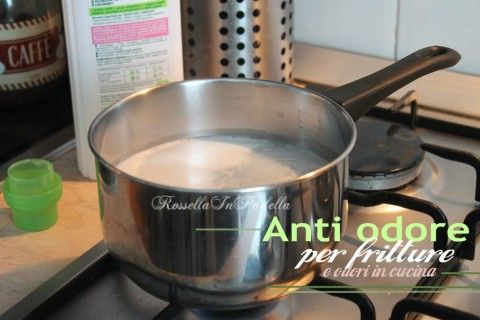 Anti odore casalingo per fritture e odori in cucina