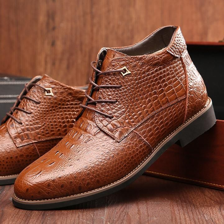 Sacko Boutique - Male Winter Business Office Formal Leather Shoes