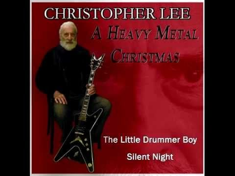 Christopher Lee. A Heavy Metal Christmas. We may not have gotten the apocalypse this year, but at least we've got this.