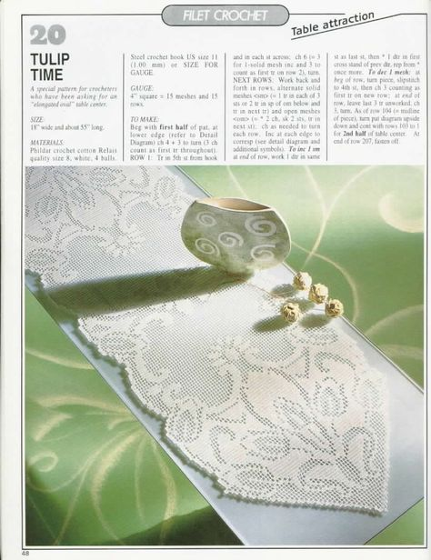 Oblong tablecloth
