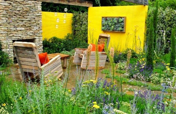 614 best images about patios terrazas y balcones de for Plantas para patios