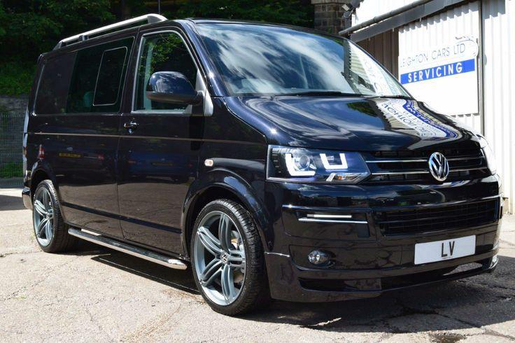 2015 15 VW Transporter 2.0 T5 T30 140ps SWB Kombi Sportline Pack Black Leather   eBay