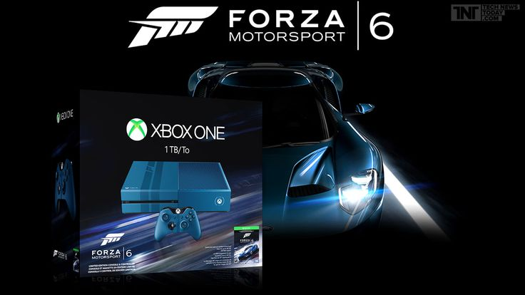 Microsoft Xbox One Forza 6 Limited Edition: Collect Your Racing Stripes