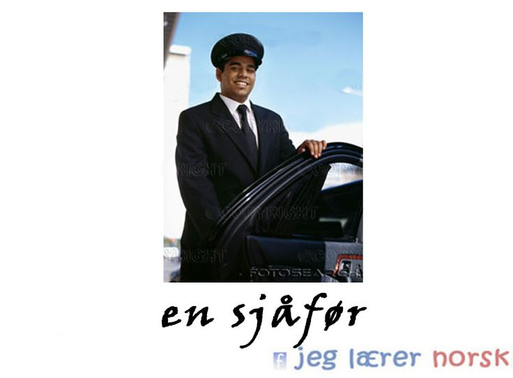 Sjåfør (reading this as chauffer teaches you norwegian's basic extra letter in just one go!)