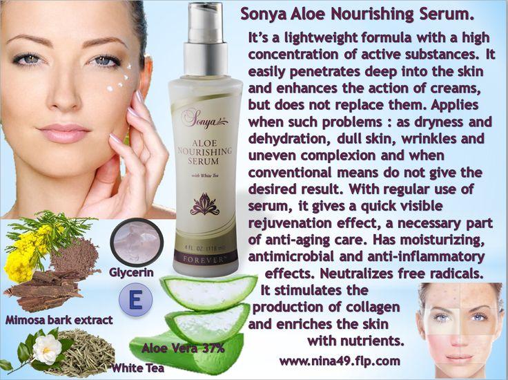 Sonya Aloe Nourishing Serum order at www.nina49.flp.com