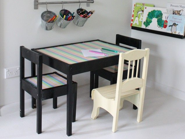 Cheery Children's Table and Chairs