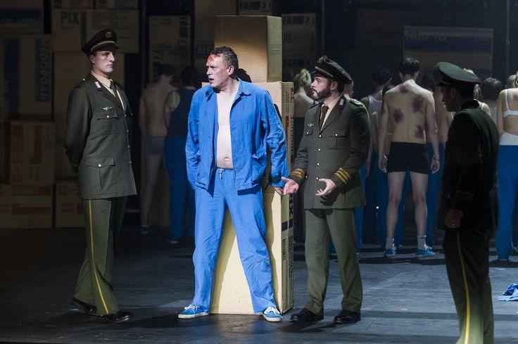 Turandot - Eamonn Mulhall (Pong), Neal Cooper (Calaf), Paul Carey Jones (Ping), Andrew Rees (Pang), The Chorus of Northern Ireland Opera - #TurandotBelfast