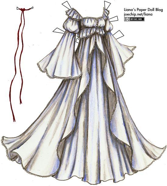 Liana's Paper Doll Blog » Costumes
