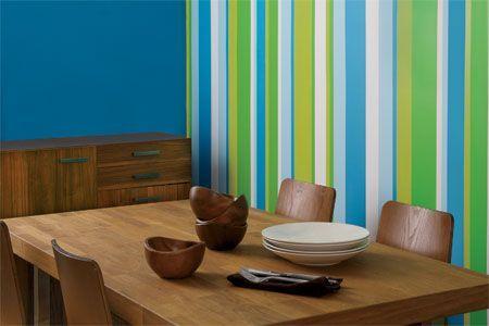 Come dipingere pareti a righe verticali e orizzontali - Donnaclick