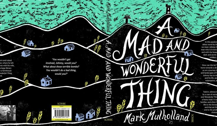 cover design - Allison Colpoys — The Jacky Winter Group | A Mad And Wonderful Thing by Mark Mulholland