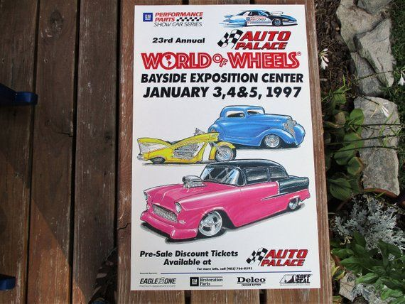Rd Annual Boston World Of Wheels Car Show Poster Uncle - World of wheels car show boston