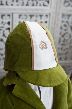"""Horse riding hat for little boys, matching the """"Berlioz"""" christening suit."""