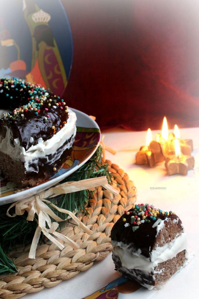 roscón de reyes de chocolate y moka #cocinoconlacor #lacormenaje #recetasdenavidad #kidsandchic