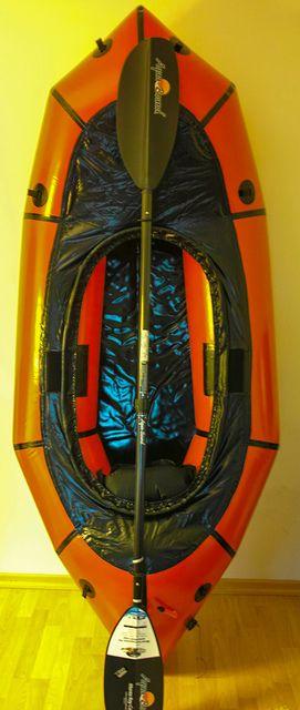 Alpacka Packraft Yukon Yak #packrafting  More on our blog at: www.hikeventures.com