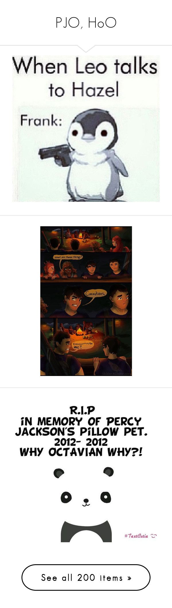 """""""PJO, HoO"""" by beachgirl511 ❤ liked on Polyvore featuring percy jackson, words, fandoms, pictures, quotes, pjo/hoo, phrase, filler, saying and text"""
