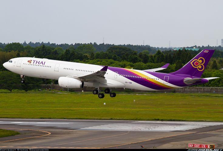 Thai Airbus A330-343X @NRT