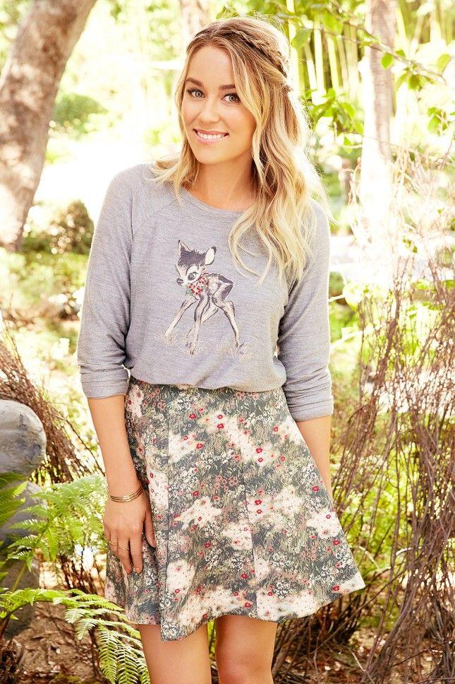 Lauren Conrad's Latest Disney-Inspired Clothing Line Will Make You Go Aww via Brit + Co.