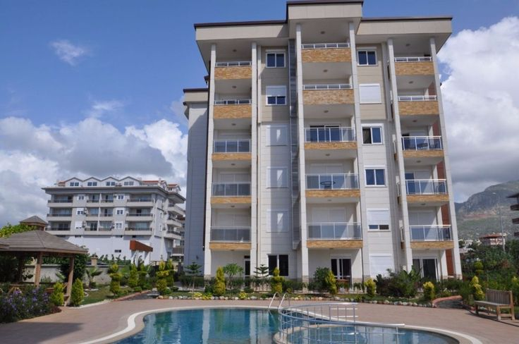The Apartment is located in Kestel and 100 meters to the beach, 7 km to Alanya city center, it is easy to reach Alanya city center by public bus, which is running every 10 minutes and busstop is close to apartment. 1 bedroom apartment is 65 m2 with open plan kitchen living room, 1 bathroom and 1 balcony.