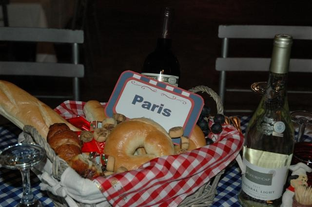 edible centre piece - french bistro event by ECTA creative solutions, via Flickr