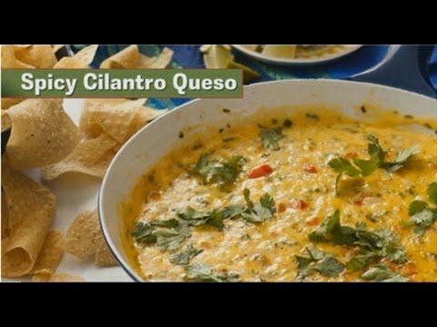 Apps in a Snap Spicy Cilantro Queso