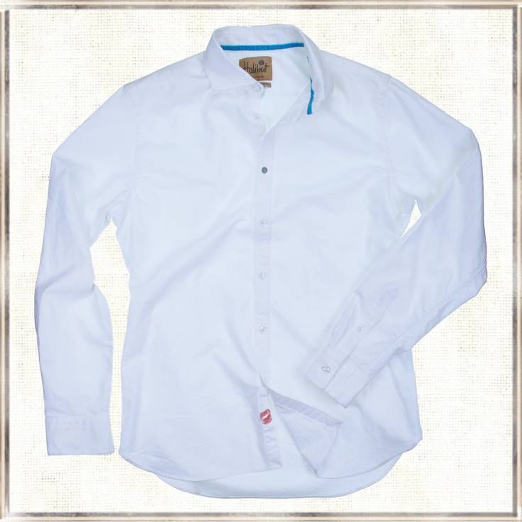 Halibut Shirt - Bandius - The white shirt according to Halibut