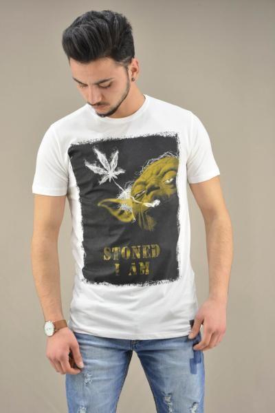 Ανδρικό t-shirt Star Wars Υoda Stoned | Άνδρας -