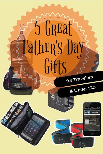 5 Great Father's Day Gifts for the traveler and under $20
