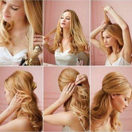 Creare un'acconciatura anni '50 è semplice: come realizzarne una in pochi passi #capelli #hairstyles