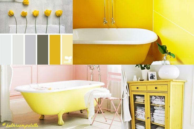 A touch of Yellow: bathroom palette #6Bagni dal mondo | Un blog sulla cultura dell'arredo bagno