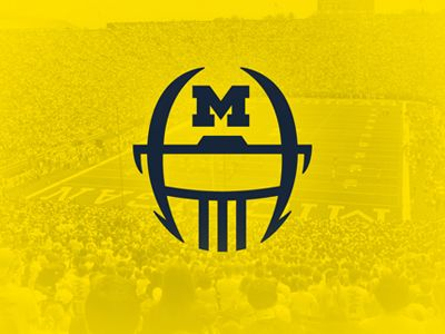 Adidas Football Helmet | | GO BLUE - []V[]ICHIGAN ...