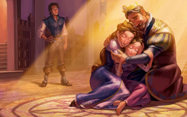 Rapunzel S Story Disney Princess My Princess