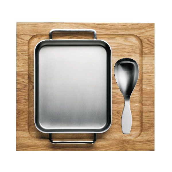 Iittala - Tools Oven Pan Wooden Tray and Spoon 3pcs Set | Panik Design